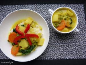 curry z ziemniakow