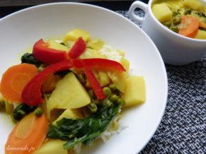 curry ziemniaczane
